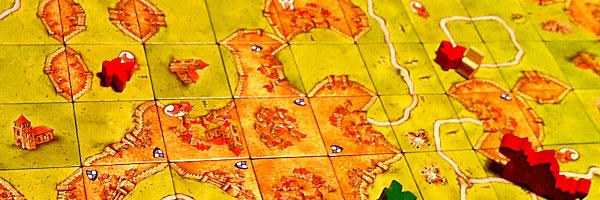 Spannendes Brettspiel: Carcassonne