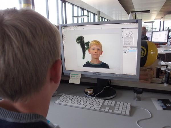 Blickpunkt Jugend: Bildbearbeitung in der Lehrlingsabteilung